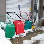 首都圏で大雪!雪かきスコップ・シャベルがない場合の代用品はコレ!