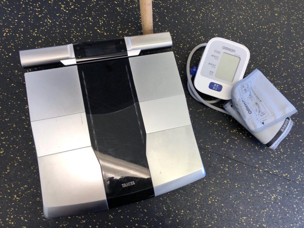 体重計と血圧計