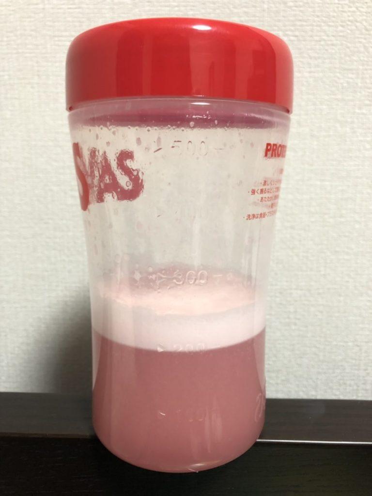 水20mlにスプーン2杯