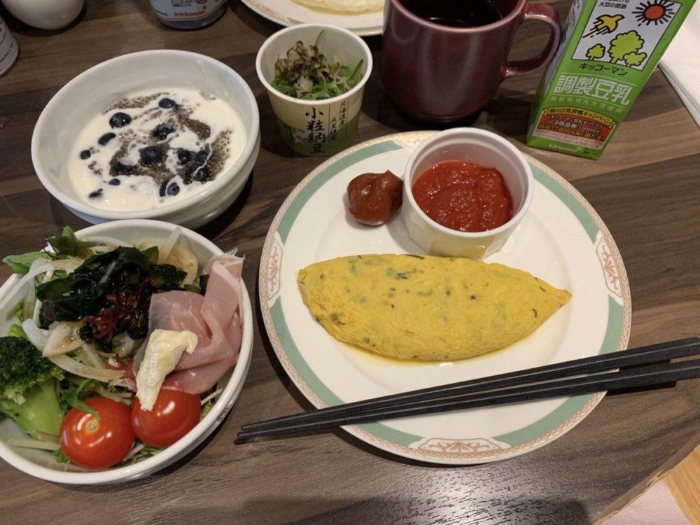 外食時の食事